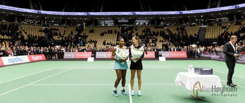 Champions Battle med Serena Williams og Ana Ivanovic i Jyske Bank Boxen