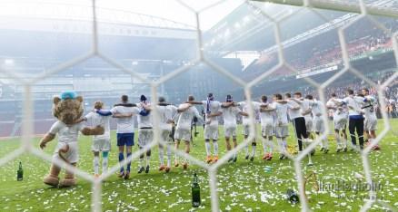 FC København vinder 3-2 over FC Vestsjælland i Pokalfinalen i Parken, d. 14 May 2015 : (Photo by Allan Høgholm Photography www.hoegholm.dk)