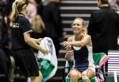 Caroline Wozniacki Serena Williams til Champions Battle i Jyske Bank Boxen