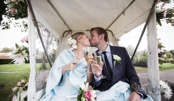 Rikke og Niels Jacobs bryllup