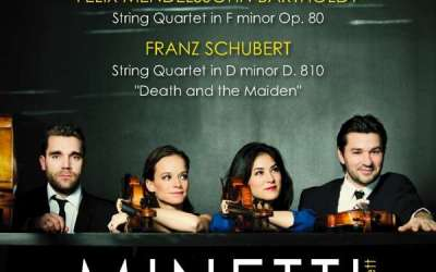 Felix Mendelssohn Bartholdy / Franz Schubert. String Quartets :: Minetti Quartett