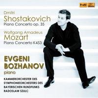 Wolfgang Amadeus Mozart: Klavierkonzert G-Dur KV 453 – Dmitri Schostakowitsch: Konzert für Klavier, Trompete und Streicher op. 35 (2016)