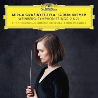 "Mieczyslaw Weinberg: Symphony No. 2 / Symphony No. 21 ""Kaddish"""