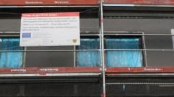 Arbeiten an der Hochofenstraße gefördert durch das Hof- und Fassadenprogramm