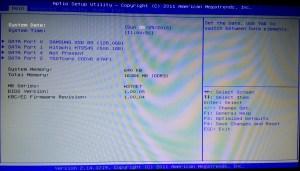 Clevo W370ET BIOS 1.00.05 Standart Stock