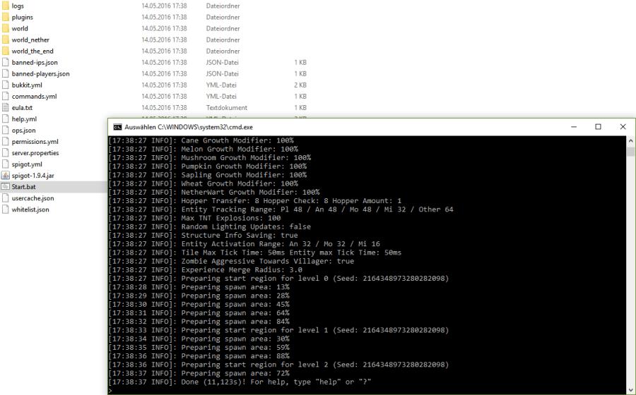 Minecraft Spigot Server 1.9.4 full free download