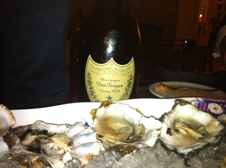 Østers med Champagne