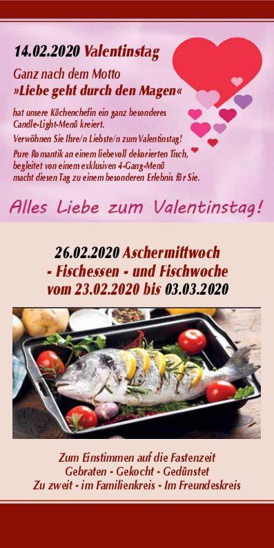 Valentinstag / Aschermittwoch