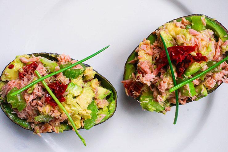 hoe word je 100 Avocado tonijnbootje