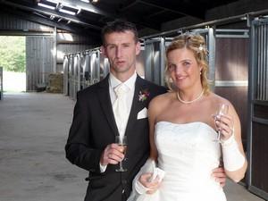 title Alles Gute, Jasmin und Mike RG-Hof-Höherhaus  Mike Böhme Jasmin Böhme Hochzeit