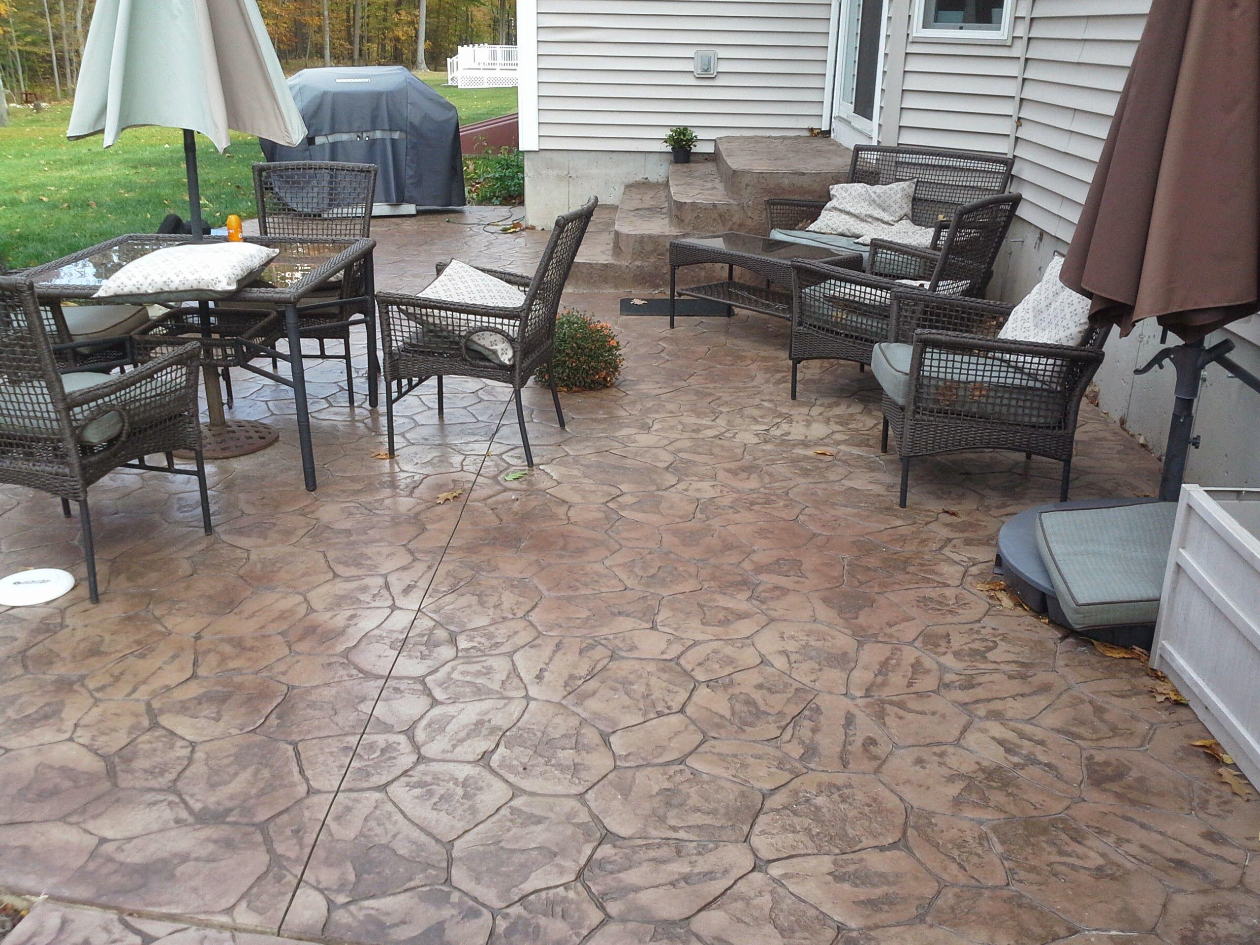 hoffman stamped concrete patios