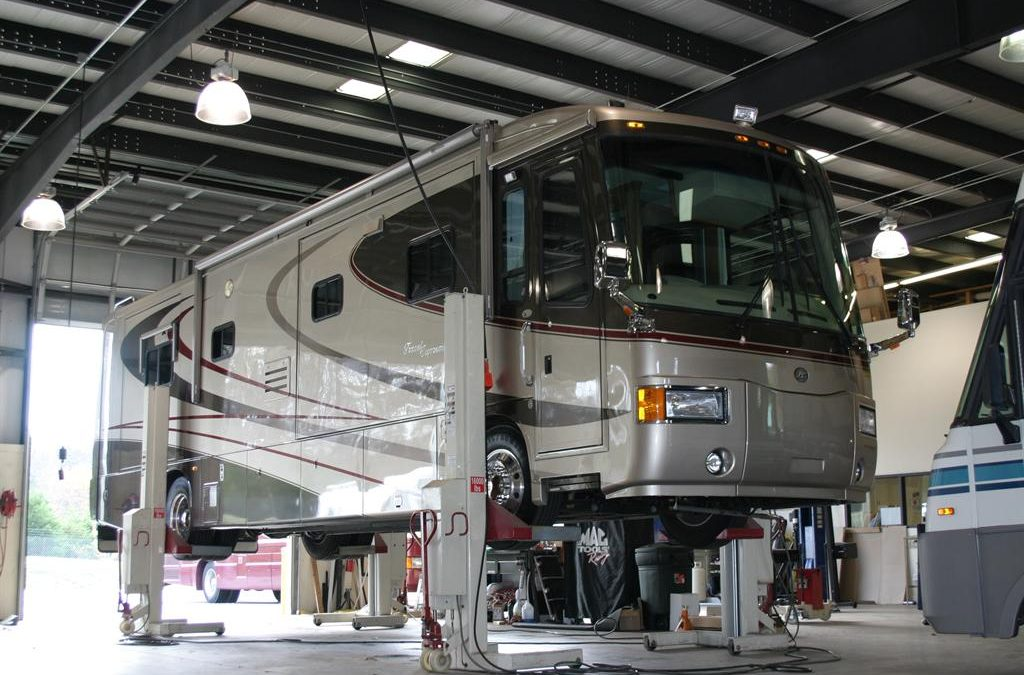 Buying an RV requires maintenance and repairs frequently.