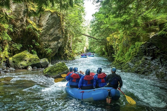 River Rafting in Washington State is at its best on the Salmon River.