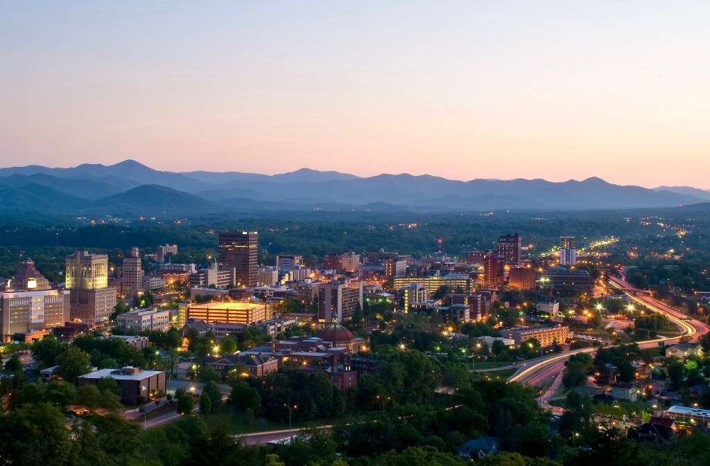 Asheville is one of the top cities to visit in the USA.