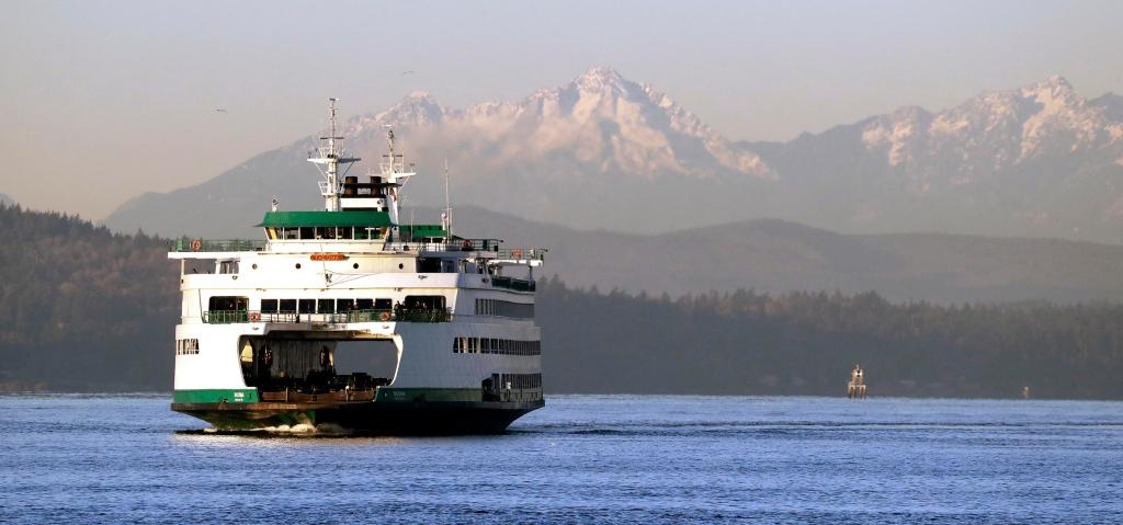 Washington Ferry system WSDOT is a great way to get around the region.