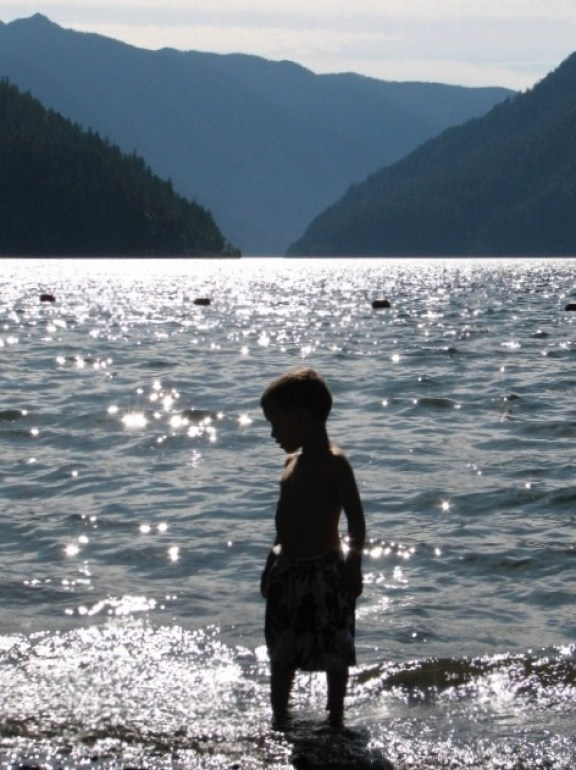 Lake Crescent is the best lake in olympic national park.
