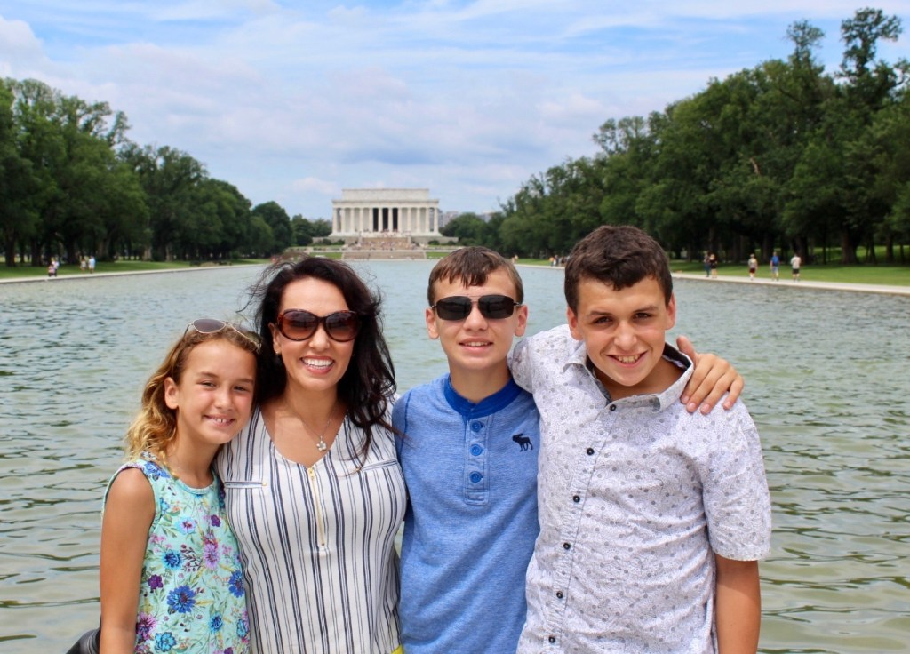Washington D.C. is one of the best places we've been in the USA