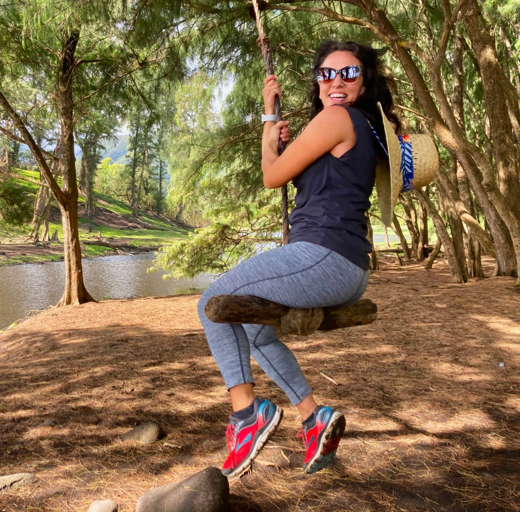 Monica ropeswings at Pololu Valley is a beautiful thing to do on Hawaii Big Island