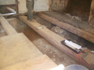 More Beams Shown During Dig