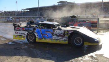 Left Rear Axle Weight on a Dirt Track Race Car / Hogan