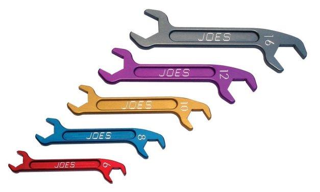 Joes Angle Aluminum Wrench Set