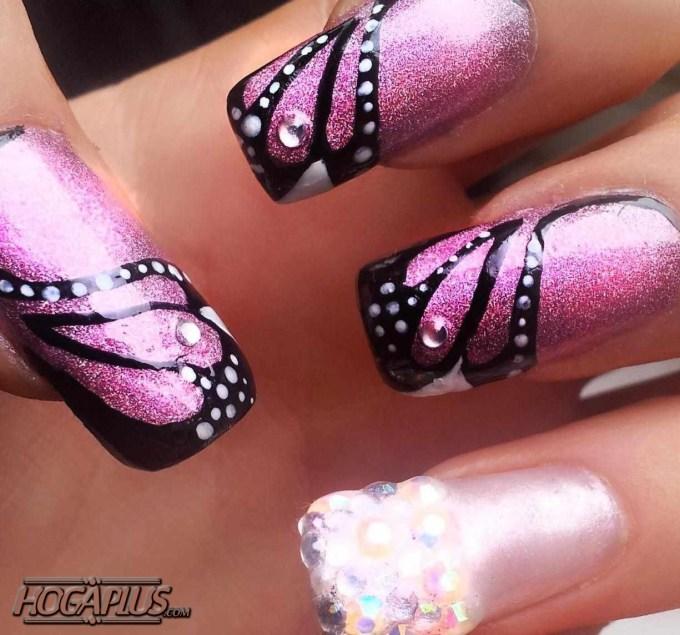 Braided Nail Art Design
