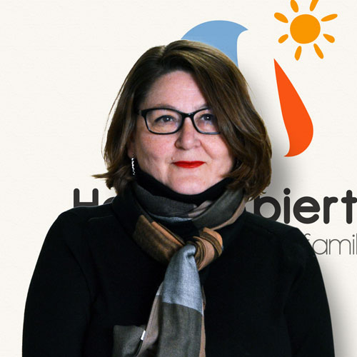 Ángeles Ramos, Coordinadora de Hogar Abierto