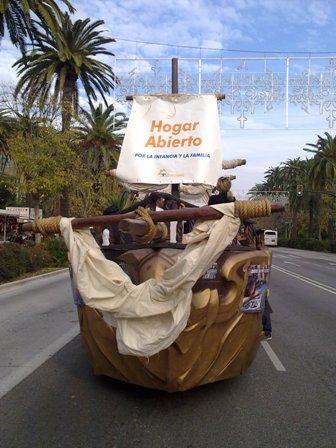 HOGAR ABIERTO en la Cabalgata de los Reyes Magos 2011