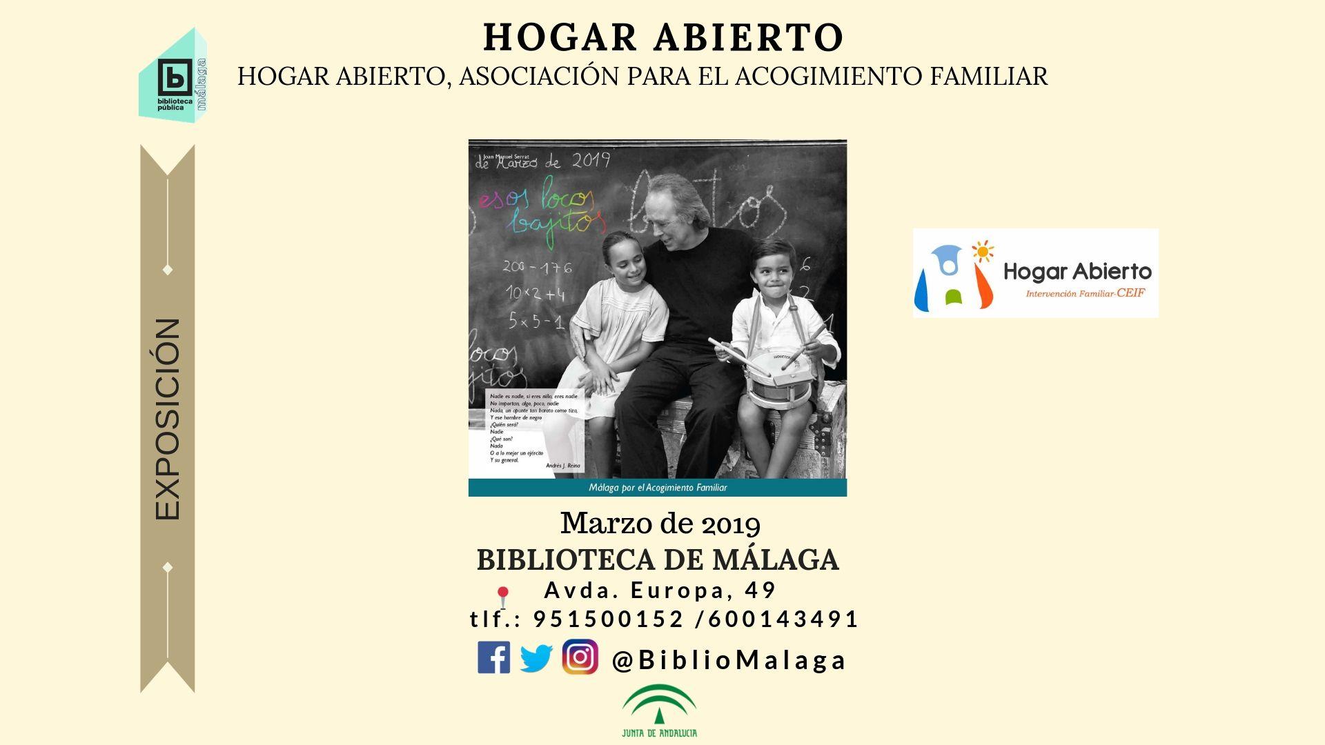 Exposición de fotografías de Hogar Abierto: Nueva campaña de difusión
