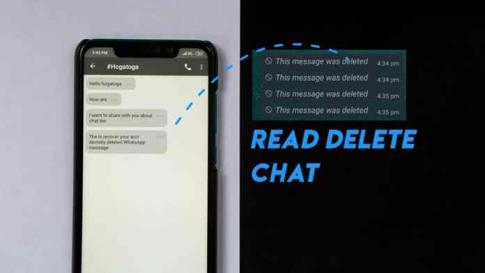 How to recover deleted WhatsApp message
