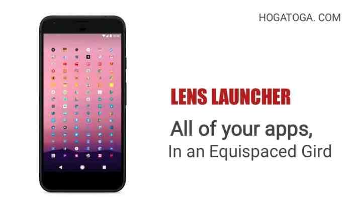 Lens Launcher is a unique - hogatoga.com