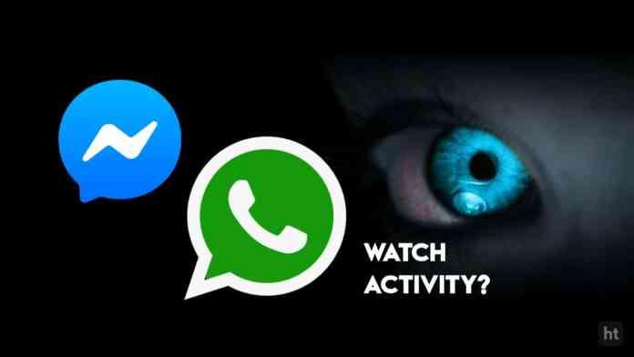 monitor [online activity of WhatsApp]