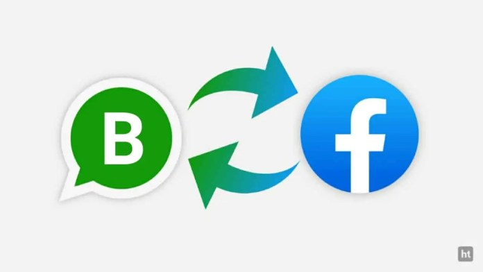 WhatsApp Business sync Facebook