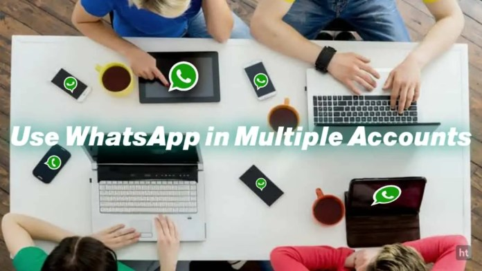 use your WhatsApp account in multiple devices