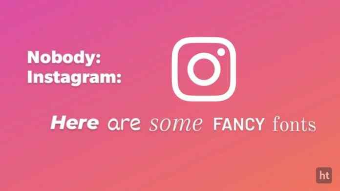 instagram story font