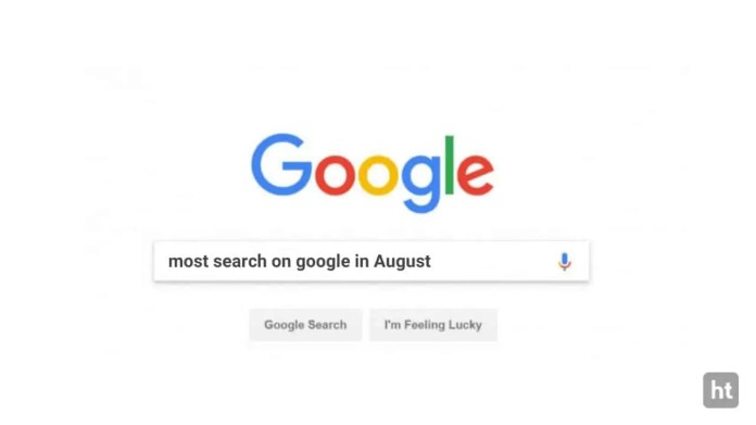 Google reveal Indian most search