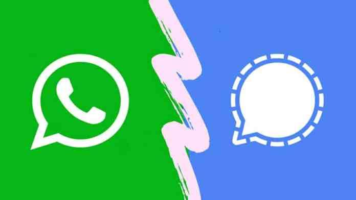WhatsApp alternative Signal app