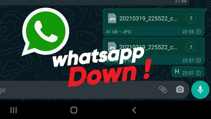 WhatsApp Facebook and Instagram down