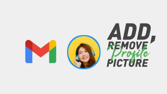 Add and remove profile photo from Gmail