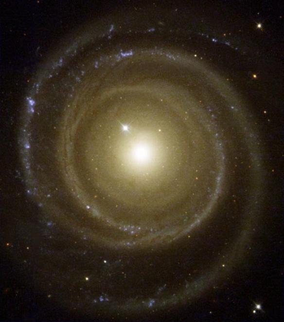 backward galaxy