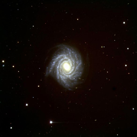 FORS1 First Light - Spiral galaxy NGC 1288