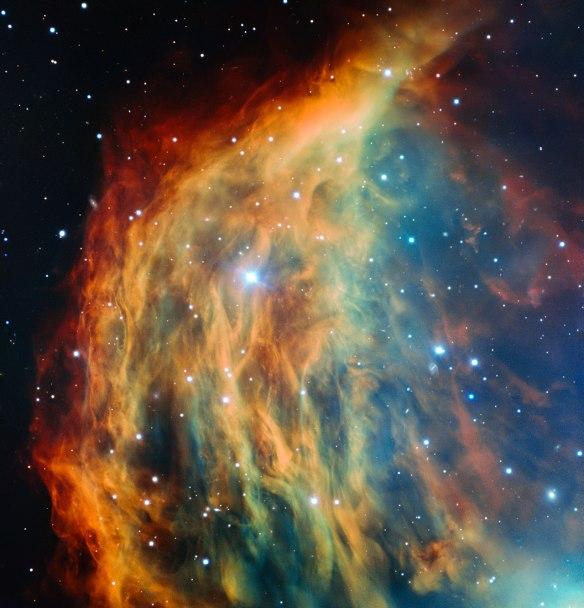 ESO's Very Large Telescope images the Medusa Nebula