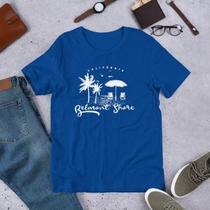 Belmont Shore 2a w mockup Front Flat Lifestyle True Royal