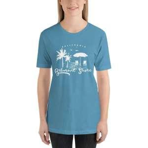 Belmont Shore 2a w mockup Front Womens Ocean Blue