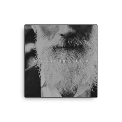 Respect the Beard Wall Wall 16x16