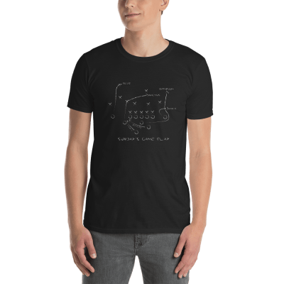 Sunday Play w mockup Front Mens Black
