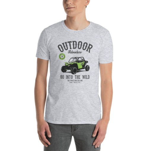 UTV Outdoor Adventure mockup Front Mens Sport Grey