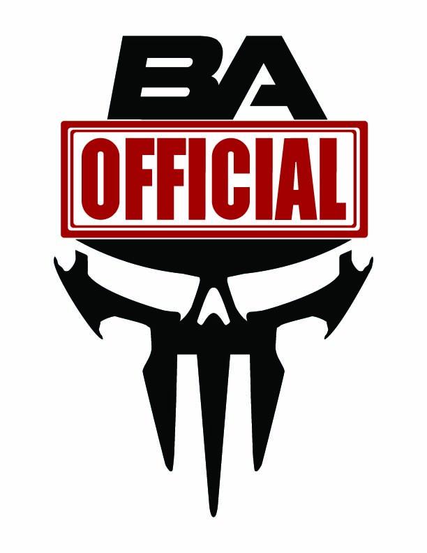 Badass Official_BA Skull [Red]