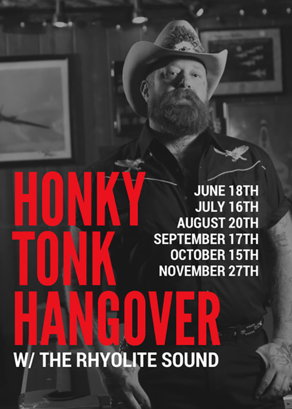 The Rhyolite Sound_Honky Tonk Hangover