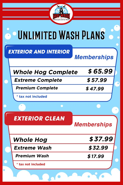 Unlimited Wash Plans copy